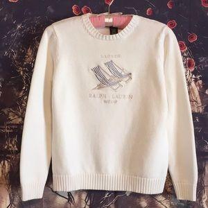 Lauren Ralph Lauren summer cotton sweater